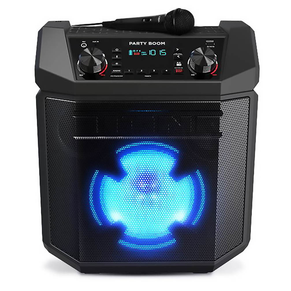 Ion High-Power Rechargeable Speaker With Lights