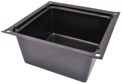 IPS� PLASTIC TUB BOX, 7X13X13 IN.