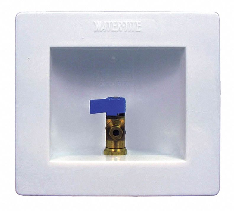 ICE MAKER BOX WITH VALVE LEAD FREE
