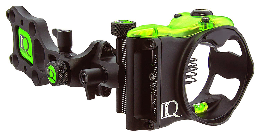 IQ Bowsights Pro 5 Pin Compound Bow Archery Sight Retina Lock Tech LH