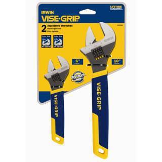 2078700 2 Piece Adjustable Wrench Set