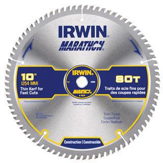 10 INCHES 80 TEETH  MARATHON BLADES