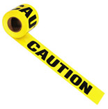 66231 3 IN. X1000 FT. CAUTION TAPE