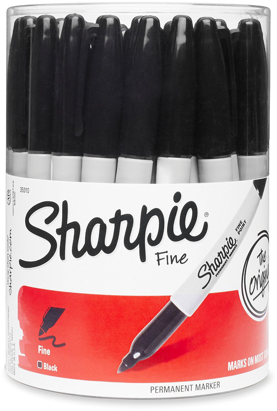 36-PIECE CANISTER SHARPIE