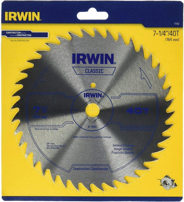 11140 7-1/4X40T IRWIN BLADE