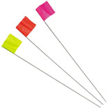 64101 FLUOR PINK STAKE FLAG