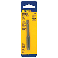 Irwin Industrial 8344 Hanson Plug Taps, High Carbon Steel, 12mm-1.75 Inch