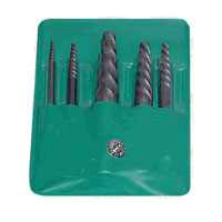 Hanson 535/524 Screw Extractor Set, 5 Pieces
