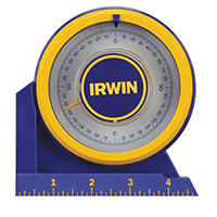 Irwin 1794488 Magnetic Angle Locator, ABS Plastic, Blue/Yellow