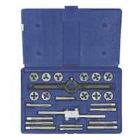 Fractionl Tap&Hex Die Set 24 Piece