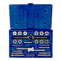 Metric Tap & Hex Die Set 24 Piece