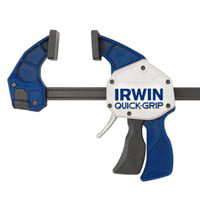 Irwin Quick Grip XP600 High Pressure One Handed Bar Clamp/Spreader, 24 in, 600 lb