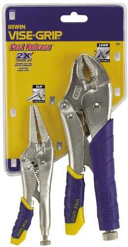 FAST RELEASE� LOCKING PLIERS SET 2 PIECE  (10WR�, 6LN�)