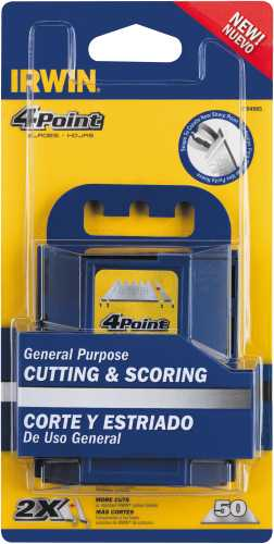 IRWIN 4 POINT� CARBON BLADES 50 PACK