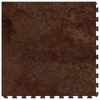 Perfection Floor Tile ITNS570SS50 Vinylsedona Floor Tile, 20 in L x 20 in W x 5 mm T