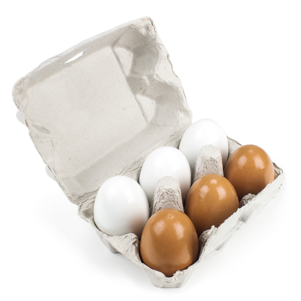 Wood Eats! Eggcellent Eggs with Real Carton