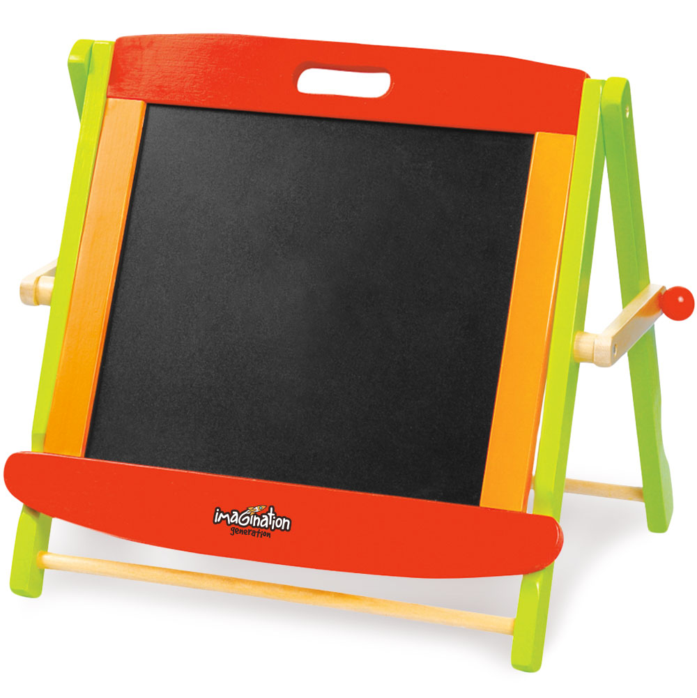Wooden Wonders Little Artists' Tabletop Easel