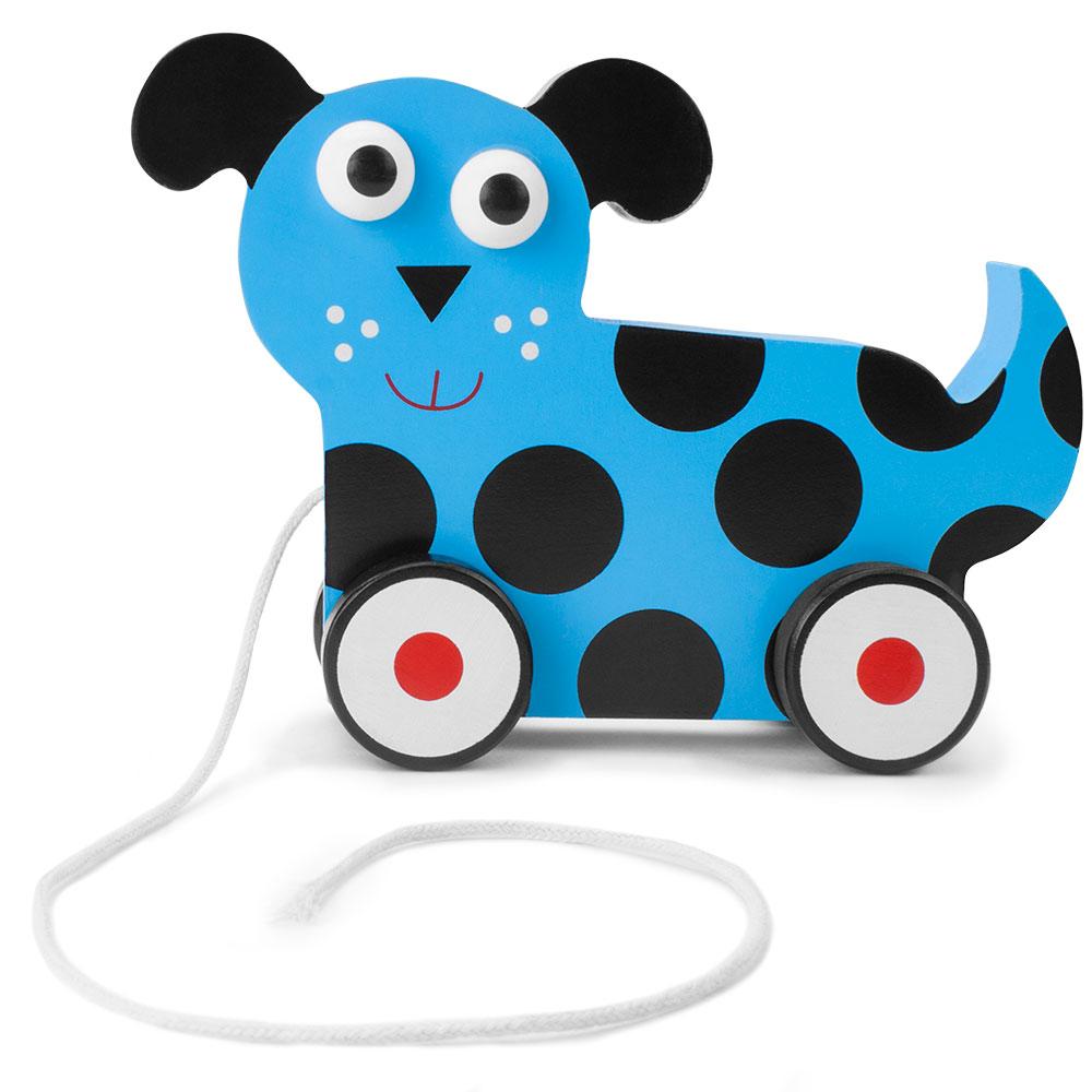 Wooden Wonders Push-n-Pull Dalmatian Puppy