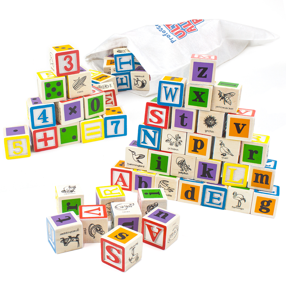 Professor Poplar's Ultimate Alphabet Blocks