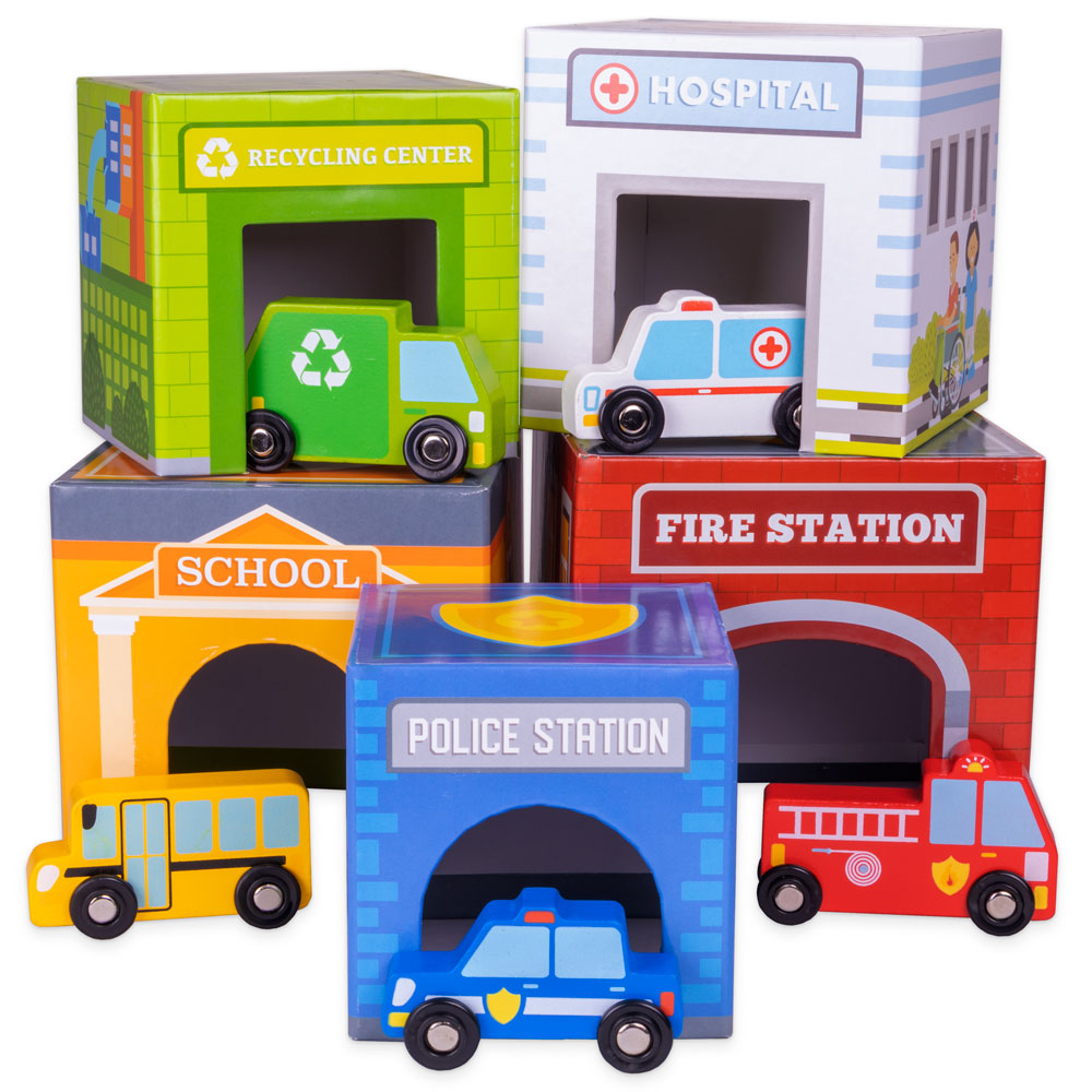 Little City Match 'n Stack Nesting Blocks