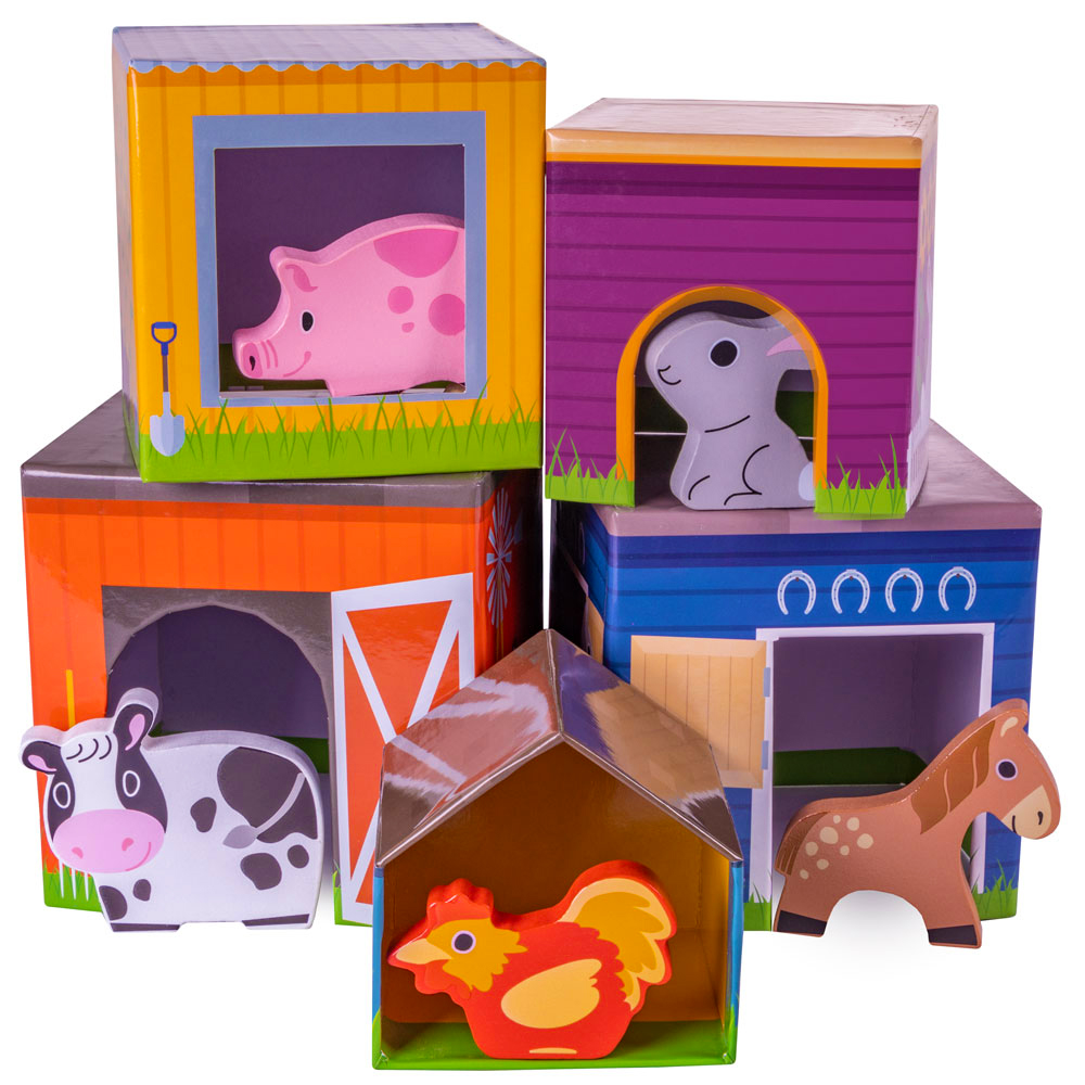 Friendly Farm Match 'n Stack Nesting Blocks