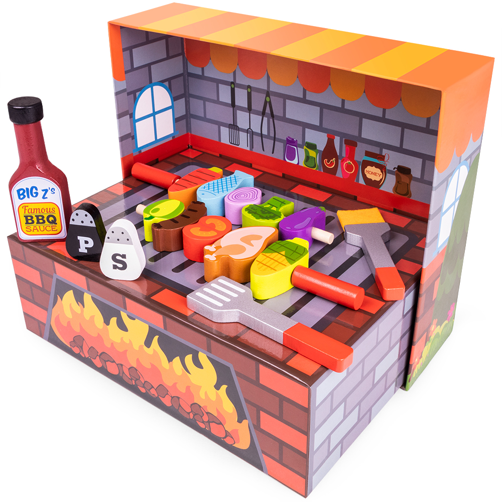 Grill N' Fill BBQ Barbecue Playset