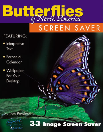 Screen Saver Butterflies of North America