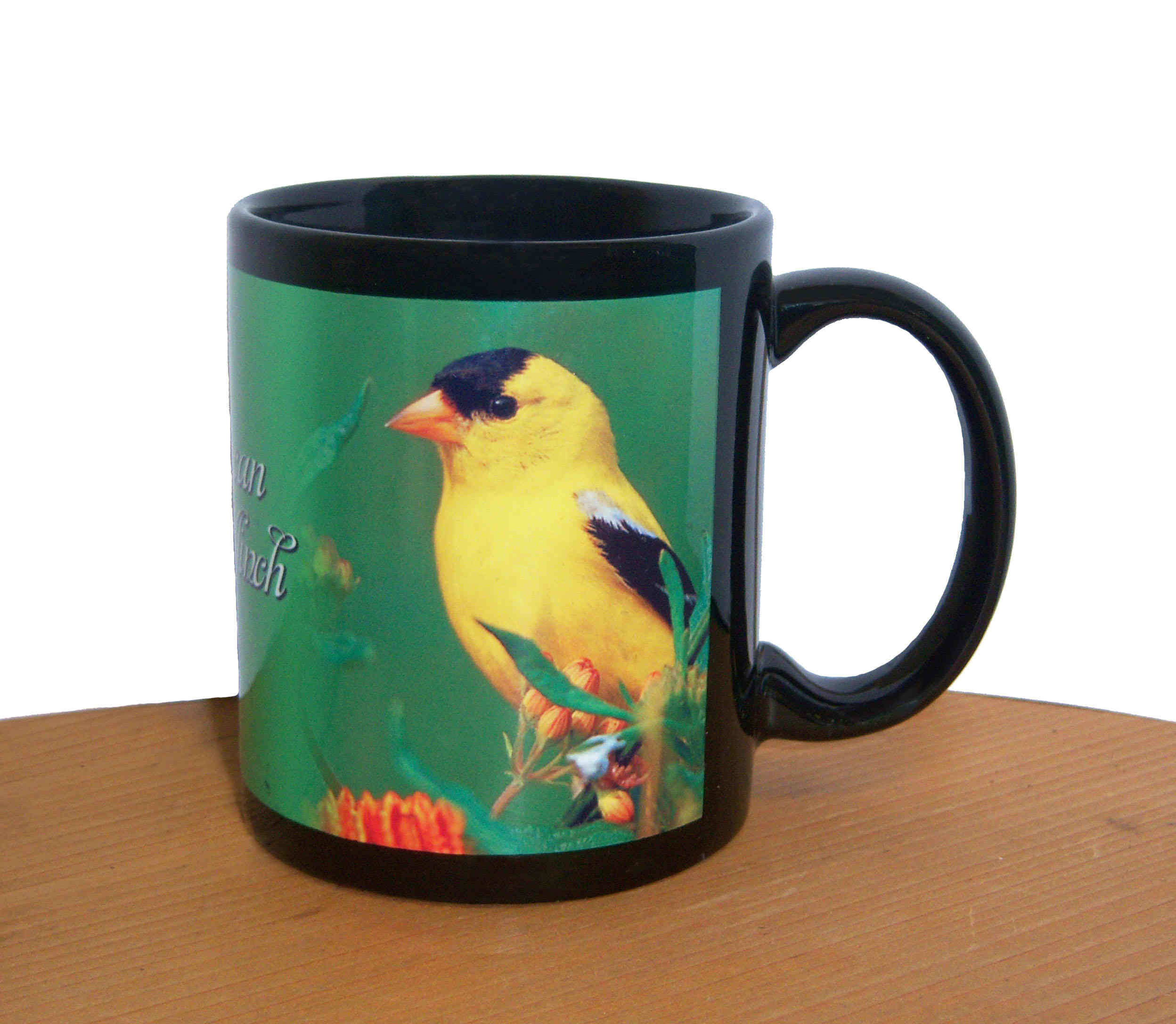 Mug Black American Goldfinch