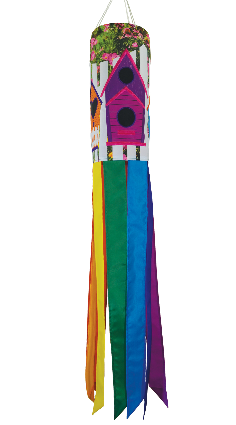 Bird House 40 inch Windsock
