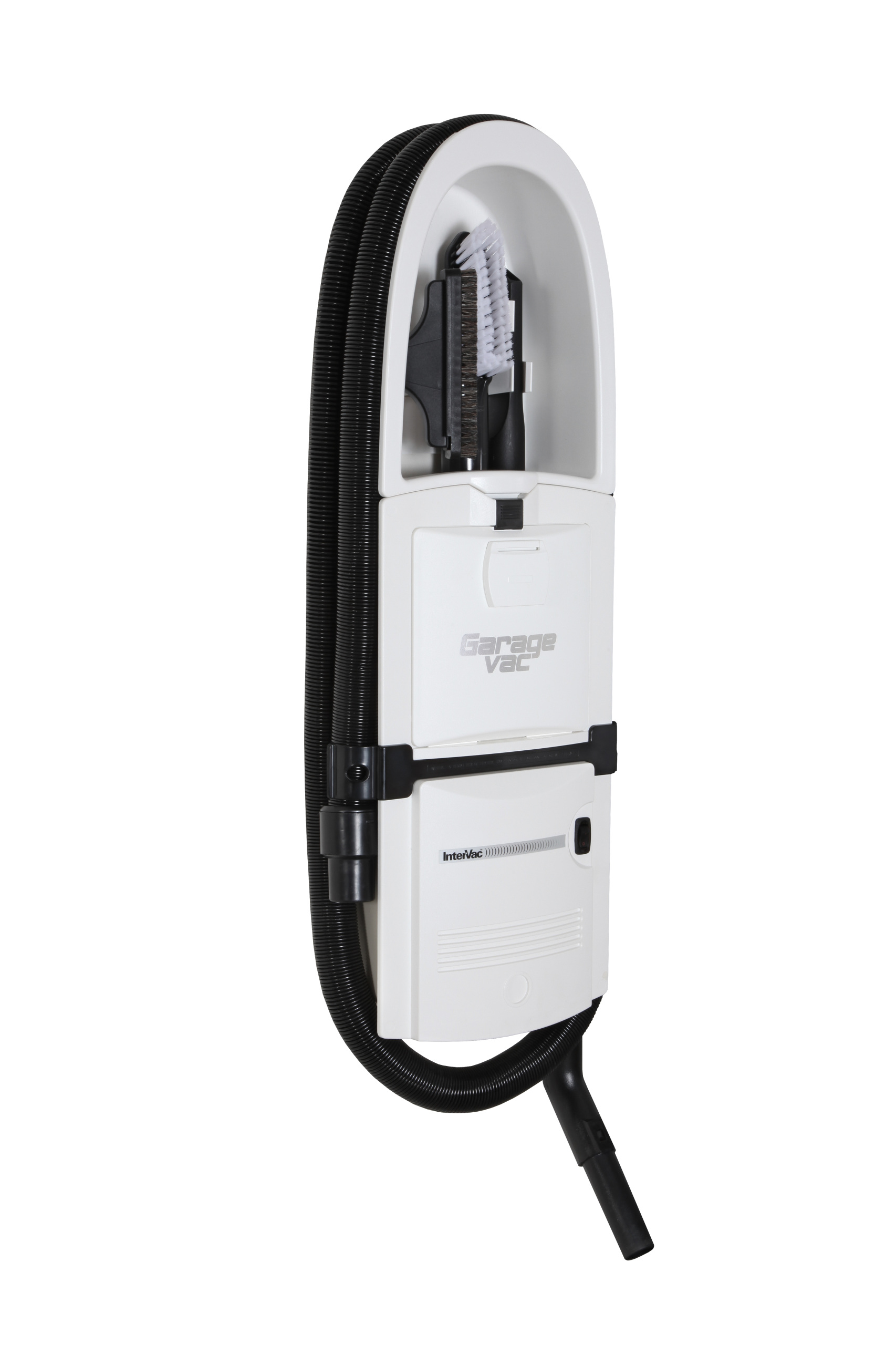 GarageVac Flush Mounted Garage Vacuum - White