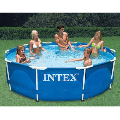"10' X 30"" Metal Frame Pool"
