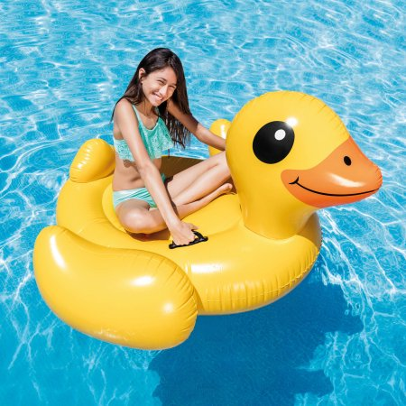 Yellow Duck Ride-On