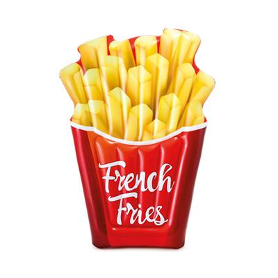 French Fries Float Red Yellow