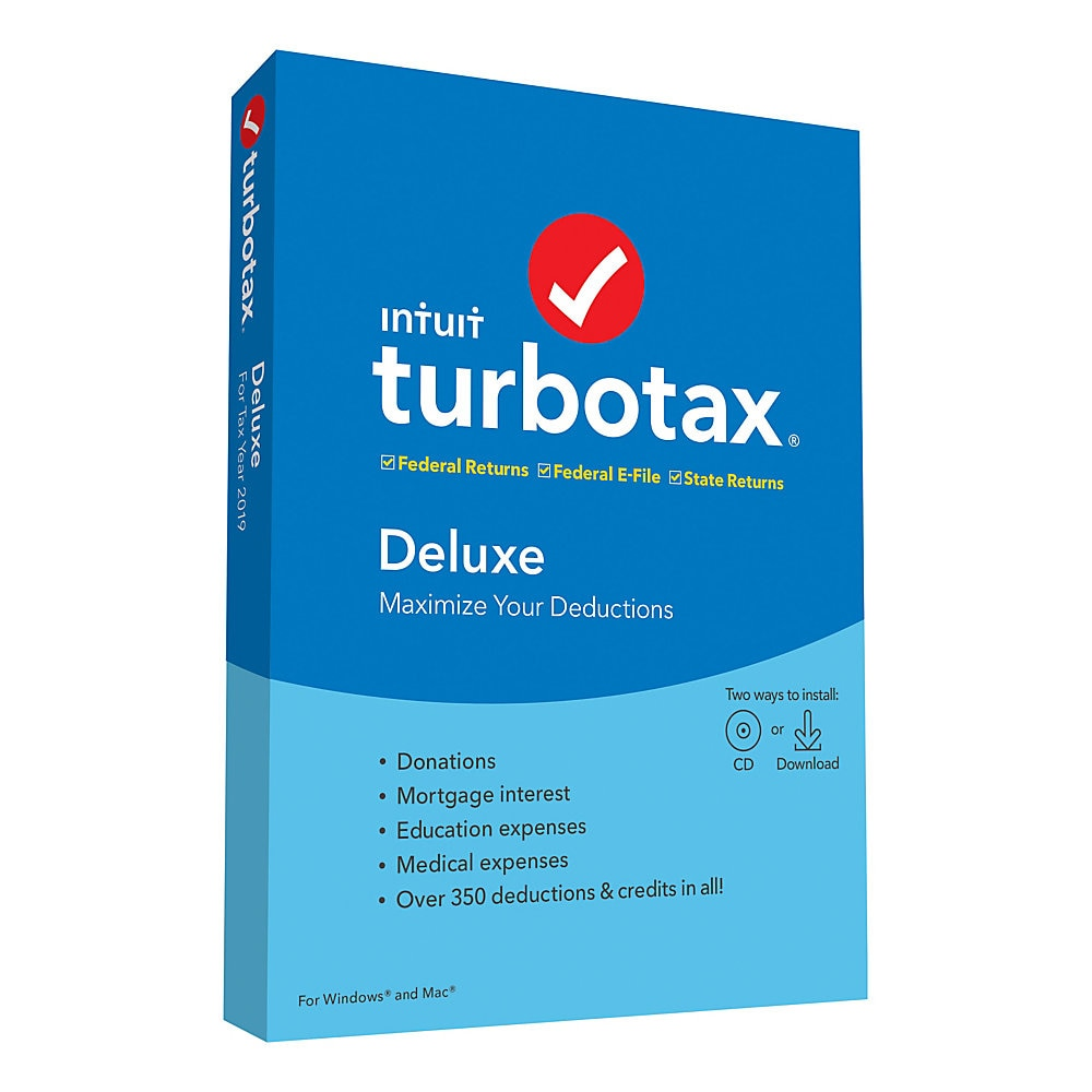 TurboTax Deluxe plus State2019