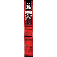 Jack Links 06023 Beef Steak, 2 oz, Peppered