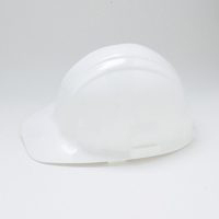 Jackson Sentry III 3000064 Hard Hat, Slotted, Cap Brim, HDPE, White