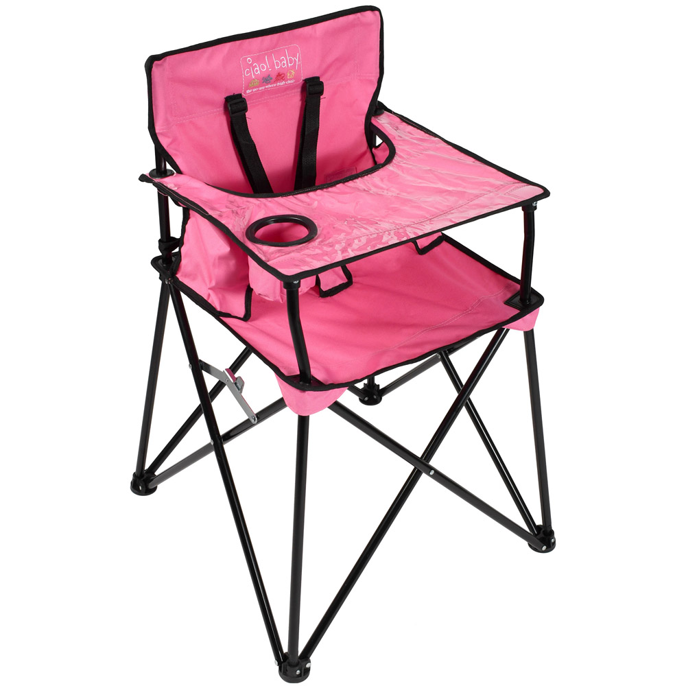 Ciao! Baby Portable High Chair Pink