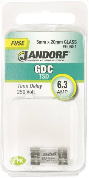 FUSE GDC 6.3A TIME DELAY