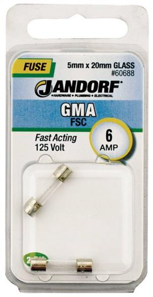 FUSE GMA 6A FAST ACTING