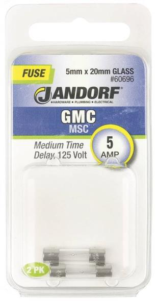 FUSE GMC 5A MED TIME DELAY