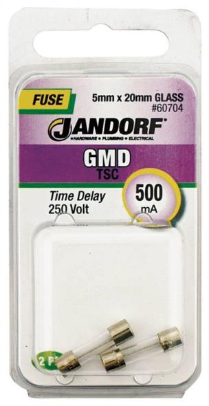 FUSE GMD 500MA TIME DELAY