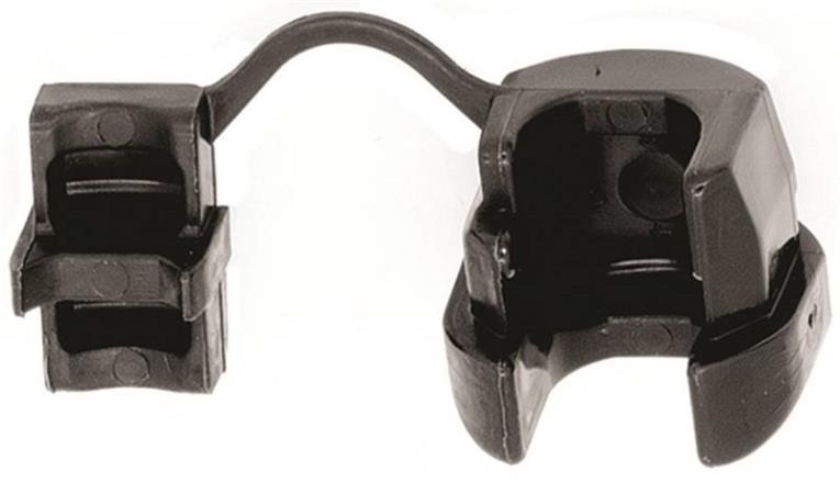 Jandorf 61415 Cord Protector, Nylon, Black