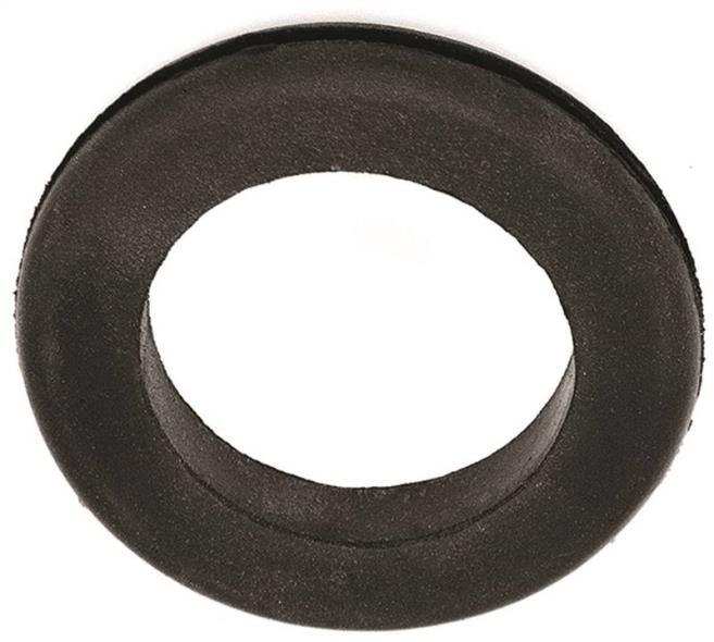 Jandorf 61489 Grommet, 1-1/2 in ID x 2-3/8 in OD x 3/8 in T, Rubber, Black