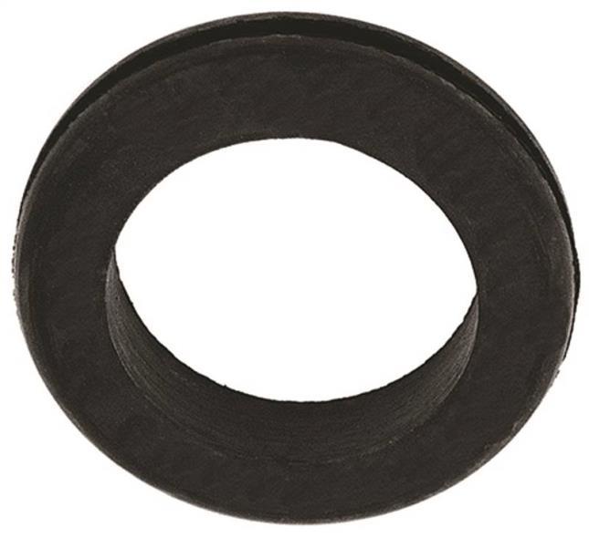 Jandorf 61491 Grommet, 1-1/4 in ID x 1-7/8 in OD x 3/8 in T, Rubber, Black