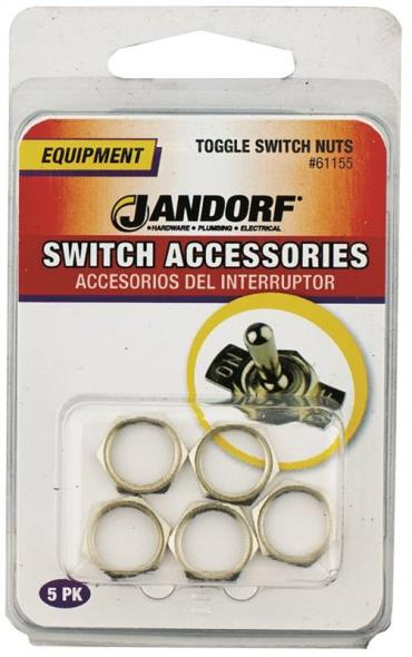 TOGGLE SWITCH NUTS