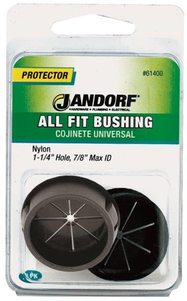 All Fit 61400 Insulated Conduit Bushing, 1-1/4 X 7/8 in, Nylon