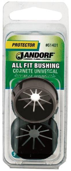 All Fit 61401 Insulated Conduit Bushing, 1-3/32 X 13/16 in, Nylon