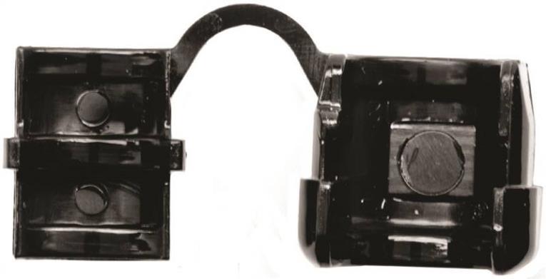 Jandorf 61416 Cord Protector, Nylon, Black