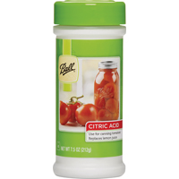 Ball 55000 Citric Acid, 77 qt Bottle, Tomato