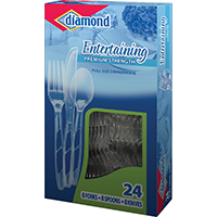 CUTLERY FULL SIZE COMBO 24 CT